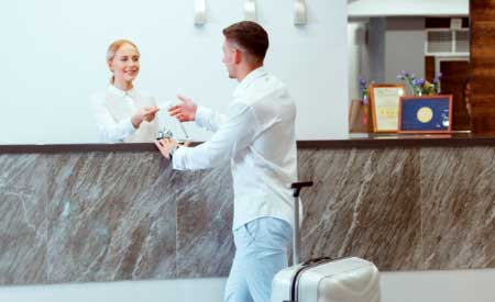 check in hoteles